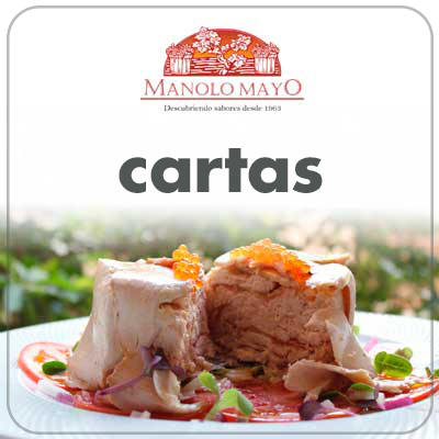 Cartas Restaurante Manolo Mayo